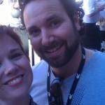 Derek from Playboy at the Phoenix Forum, with Lauren MacEwen