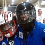 Lauren MacEwen and Jay Kopita at the Ynot grand prix