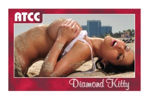 Adult Trading Card Diamond Kitty