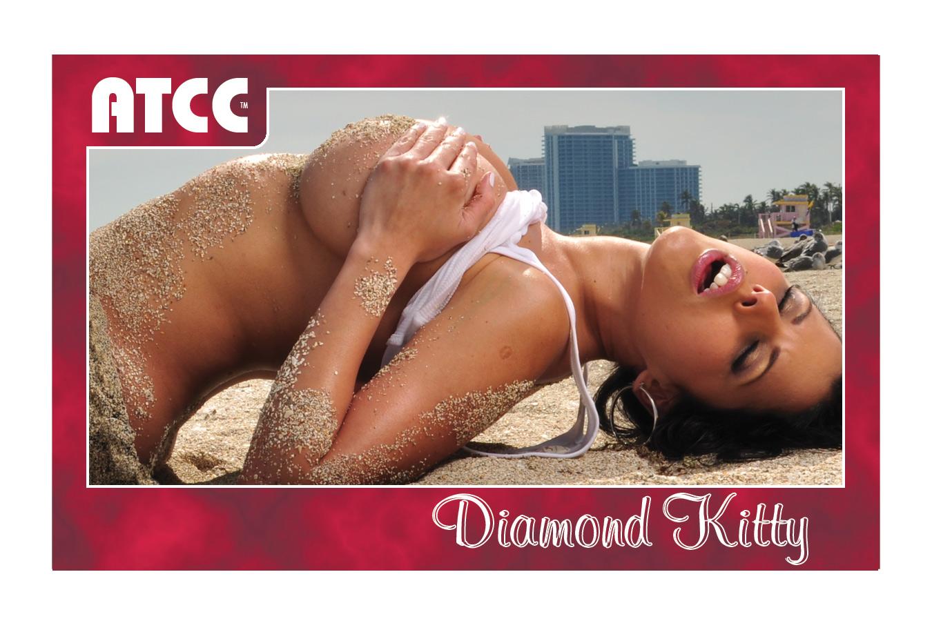 Adult Trading Card Diamond Kitty