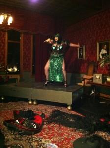 Kink at the Castle- Burlesque Dancer