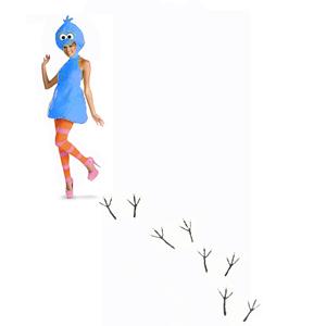 Sexy Twitter Bird Woman
