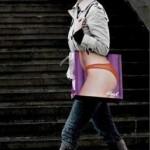 Sexy shopping bag