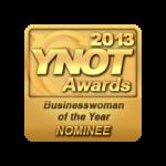 Lauren MacEwen YNOT Business Woman of the Year Nominee 2013