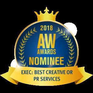 7 Veils award Best PR
